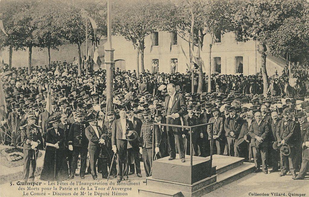 4 Fi 155_inauguration de la statue de la Tour d'Auvergne