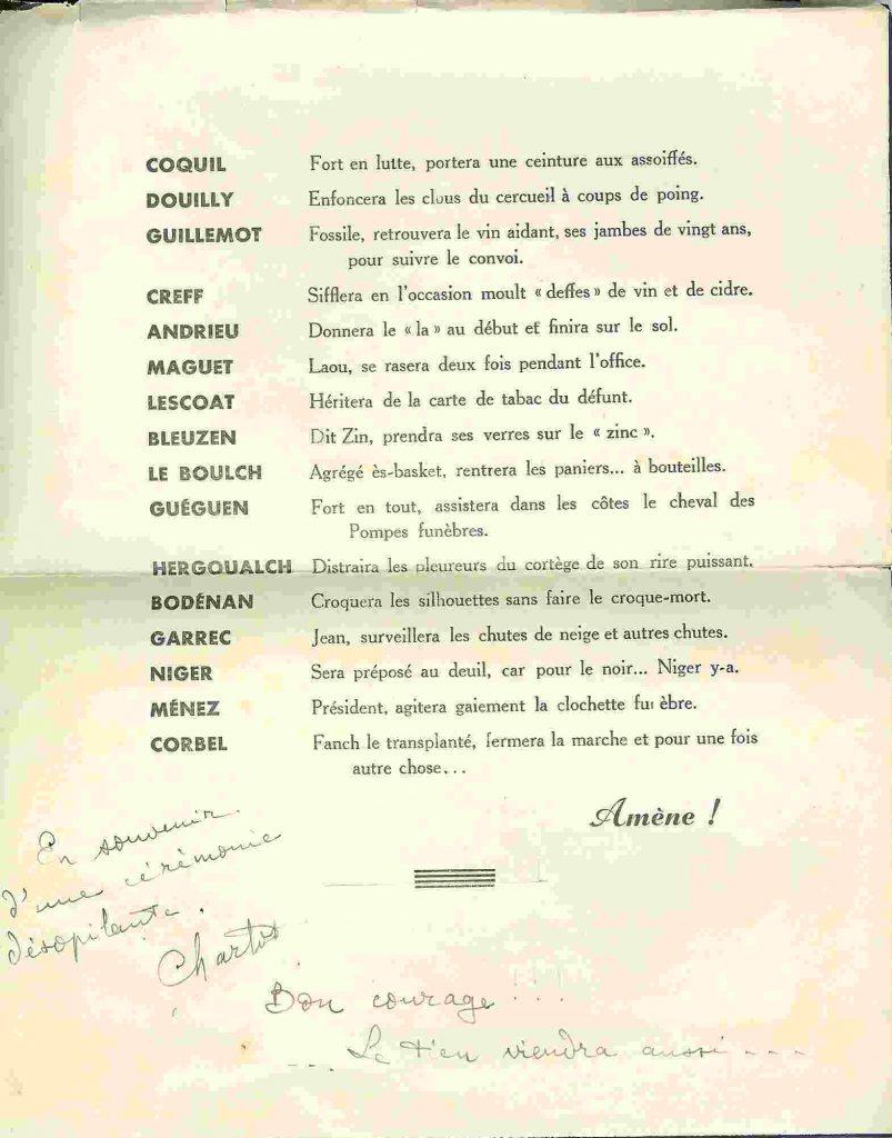 Père Cent de la promotion HIRONDELLE - 1955-1959