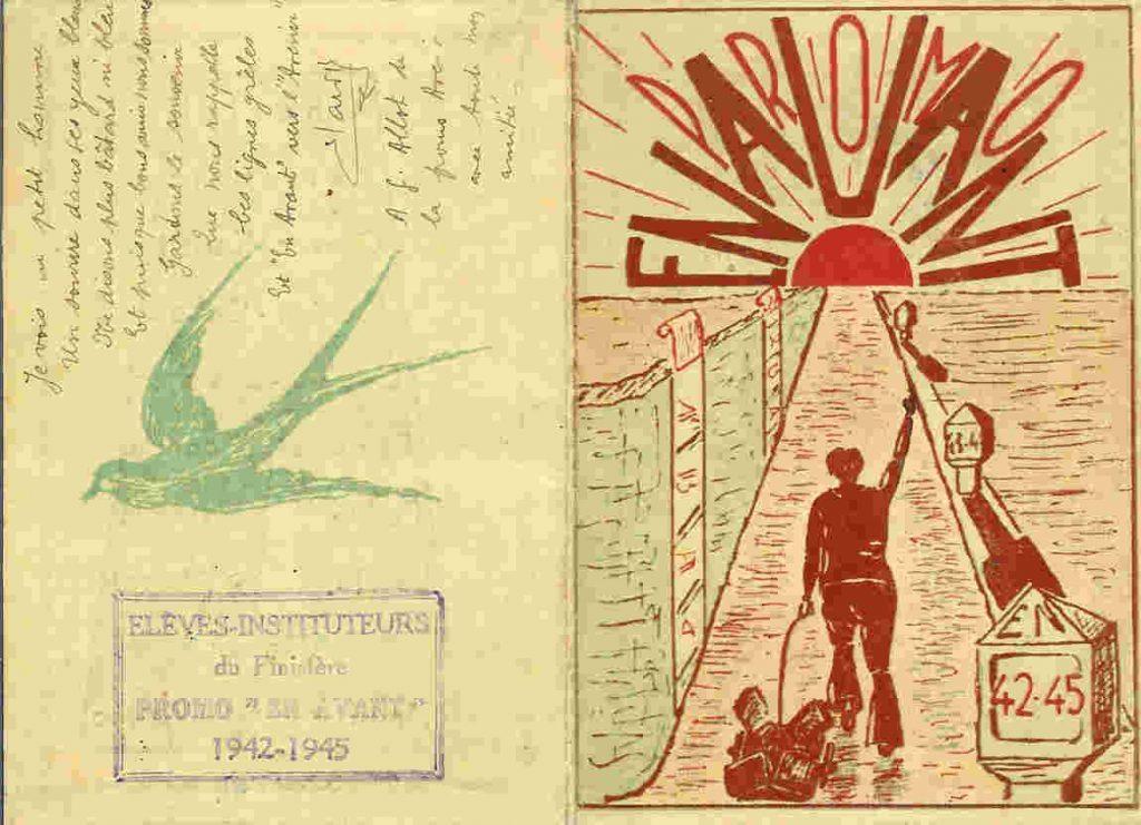 Carte de la Promotion En Avant - 1942-1945