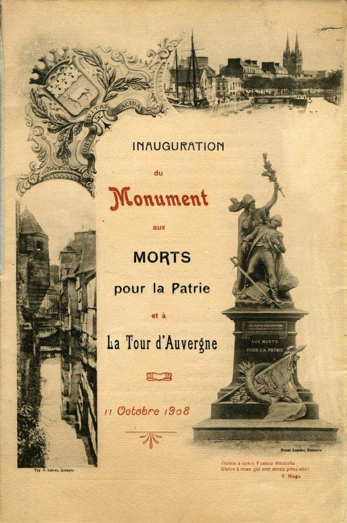 Inauguration de 1908