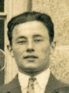 Joseph Gourlay à sa sortie de l'EN en juin 1925