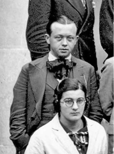 Pierre Hélias, étudiant au Lycée de Rennes en 1932-1933