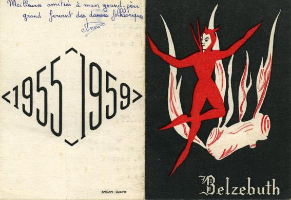 Promo Belzebuth - 1955-1959 - Carte de promotion