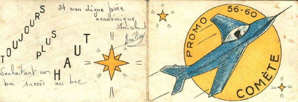 Carte de promotion - Promotion Comete - 1956-1960
