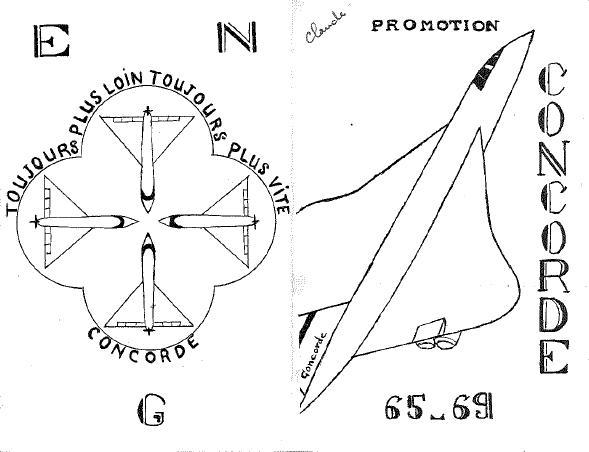 Carte de promotion - Promotion CONCORDE