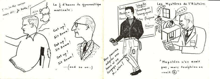 Carte de cote - Promotion ALBATROS - 1958-1962