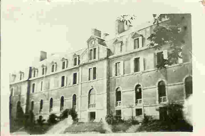 Façade sud du bâtiment principal de Roz Avel