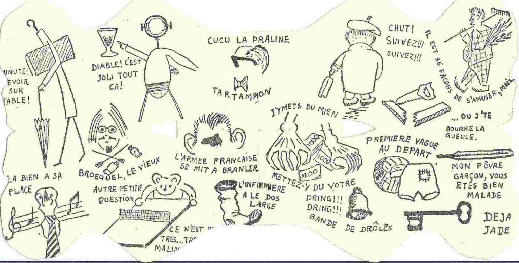 Carte de Cote Promotion Aventure (1948-1952)
