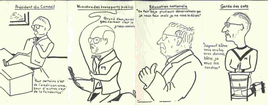 Carte de cote - Promotion Caravelle - 1959-1963