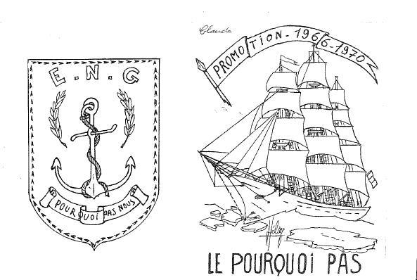 Carte de promotion - Promotion LE POURQUOI PAS
