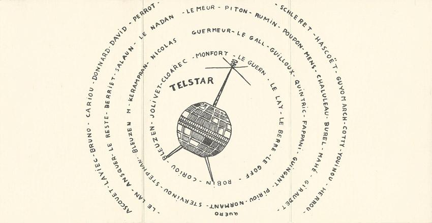 Carte de promotion - Promotion TELSTAR