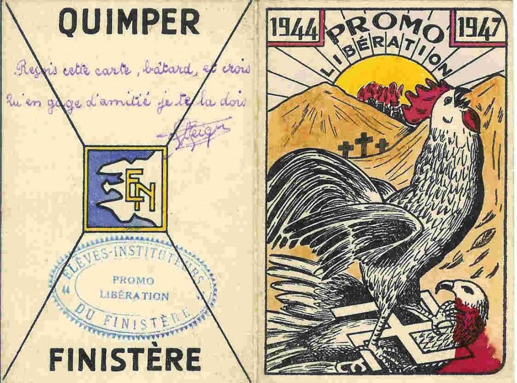 Promotion Libération - 1944-1947 - Carte de promotion