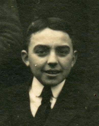 Daniel COURTIN, élève de 3è année à l'EPS de Quimperlé, juin 1922