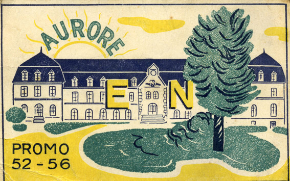 promotion Aurore - 1952-1956 - Carte de promotion