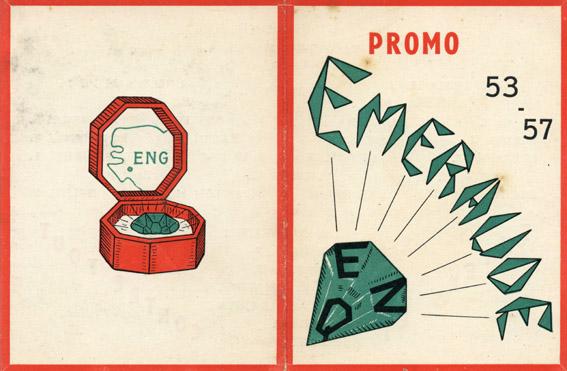 Promotion Emeraude - 1953-1957 - Carte de promotion