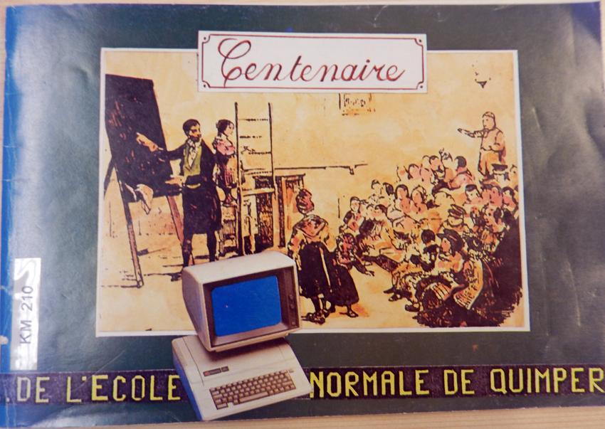 Première de couverture de la plaquette de célébration du centenaire de l'ENG en 1984