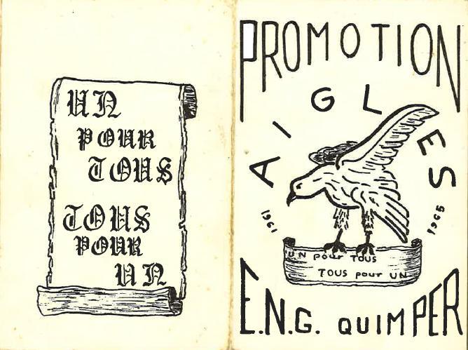 Carte de promotion Les Aigles