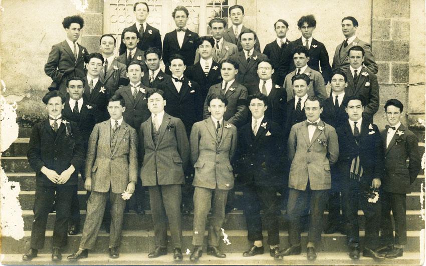 Promotion ENG, 1922-1925 (le 14 juin 1925)