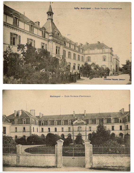 Les deux vénérables voisines du Fonds Villard (Ministère de la Culture et de la Communication-DRAC de Bretagne-STAP du Finistère).