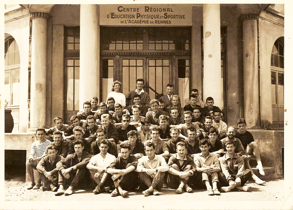 Ecole Normale 1959 CREPS Dinard