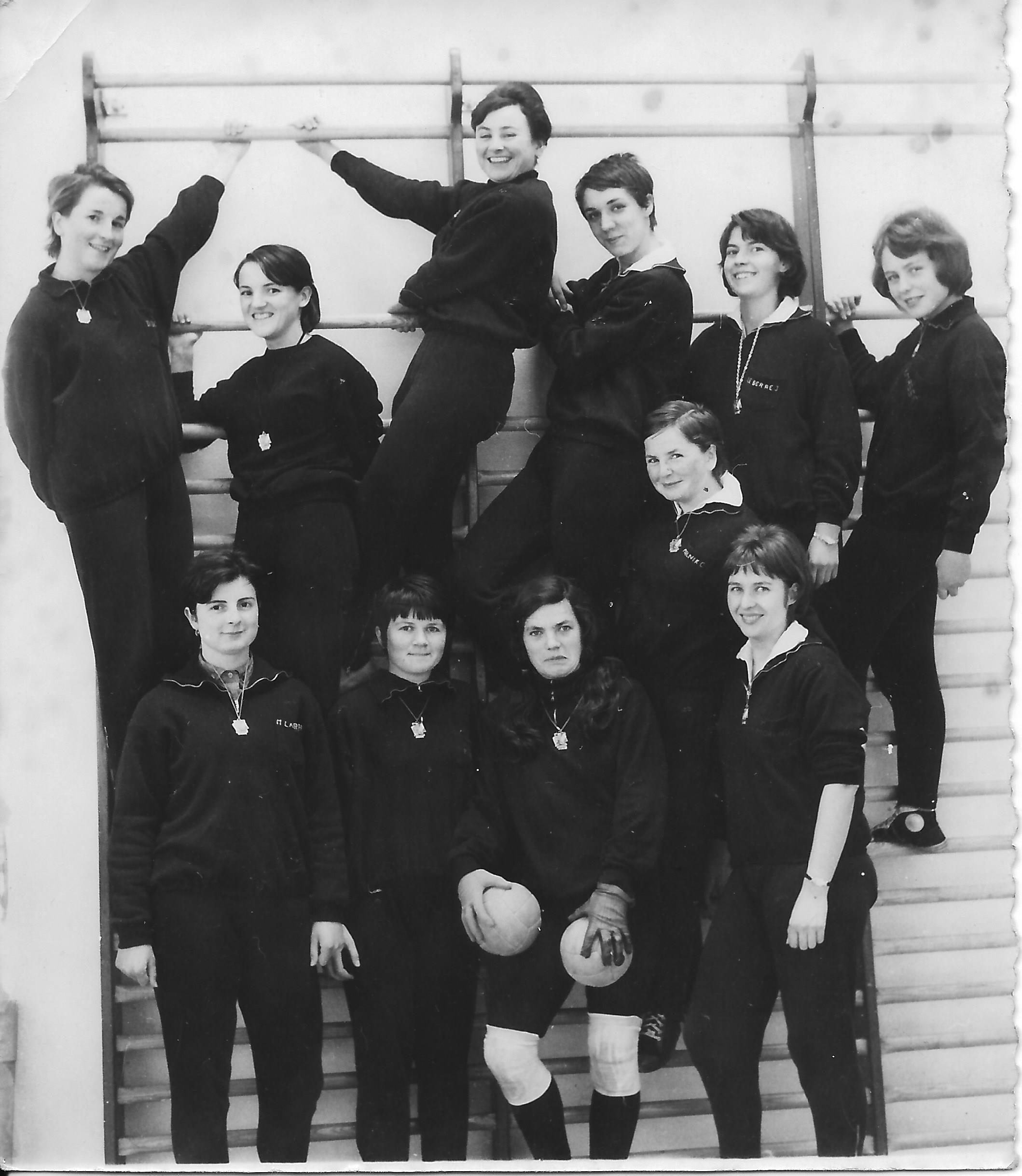 Equipe de Hand Ball ENF 1964