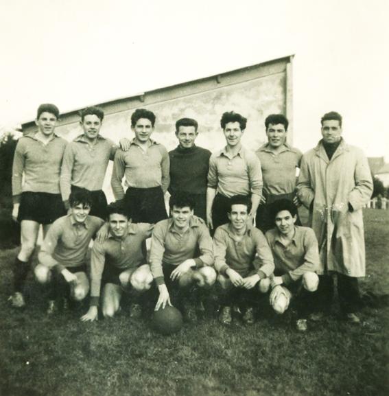 Equipe de foot EN Années 50