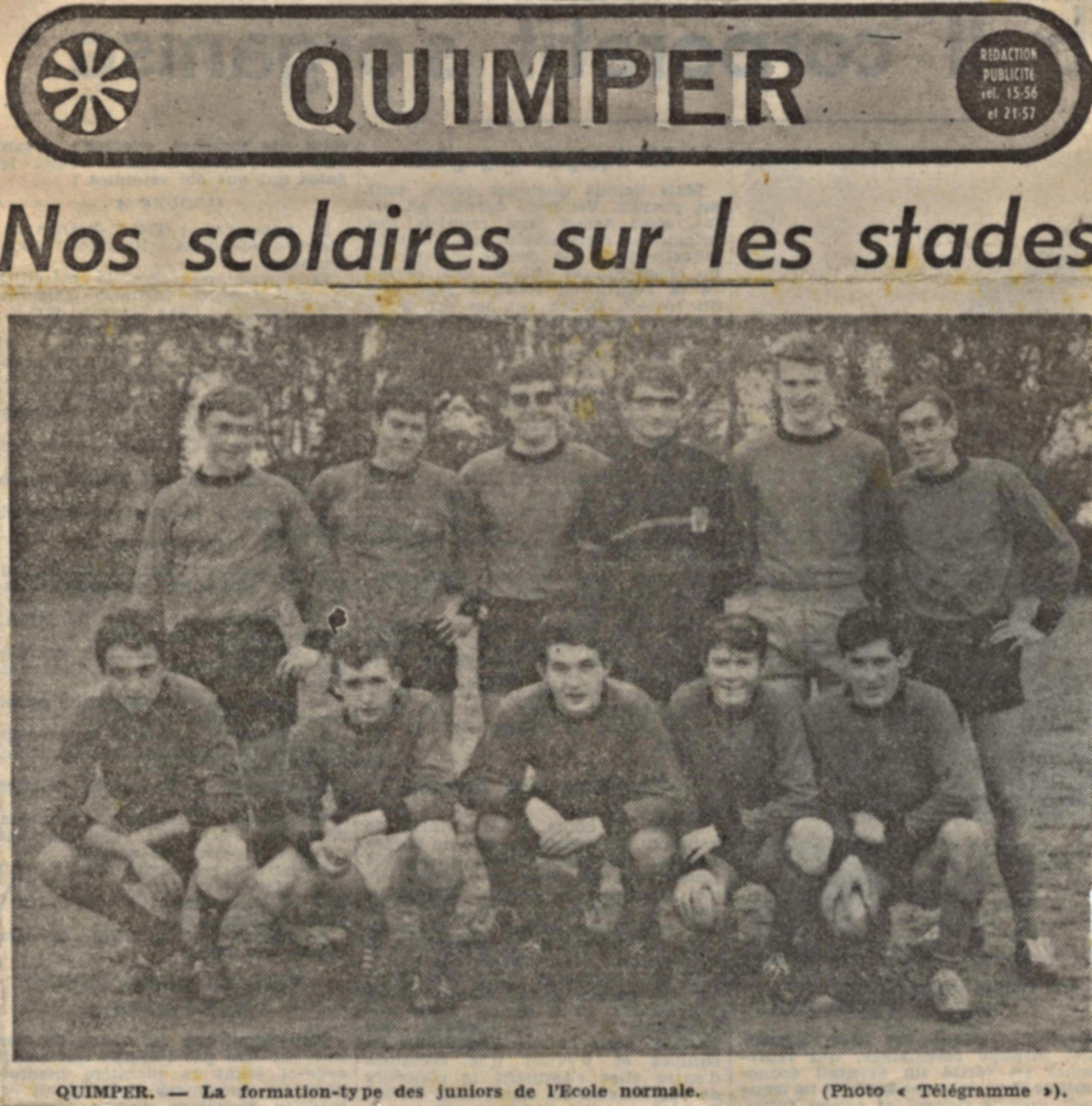 Equipe de foot ENG 1965