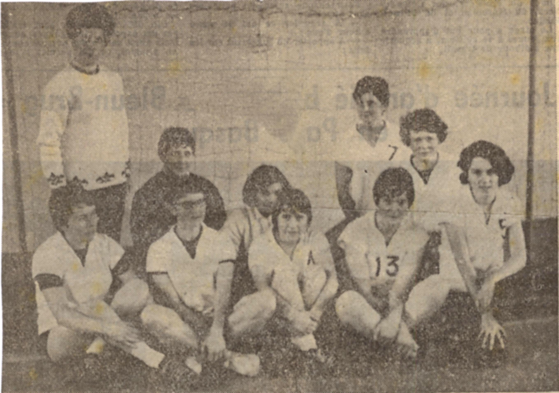 Equipe de hand Ball ENF 196...