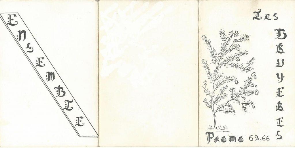 Promotion Les BRUYERES, 1962-1966