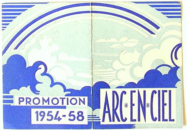 Promotion ARC-EN-CIEL, 1954-1958